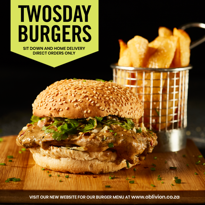 Today, for sit down and direct orders, get 2 burgers for the price of 1.